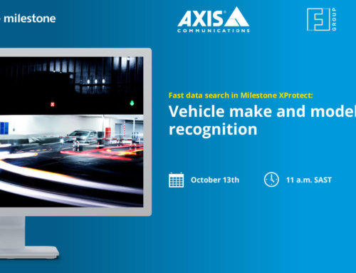 Webinar with our partners Milestone and Axis Communications